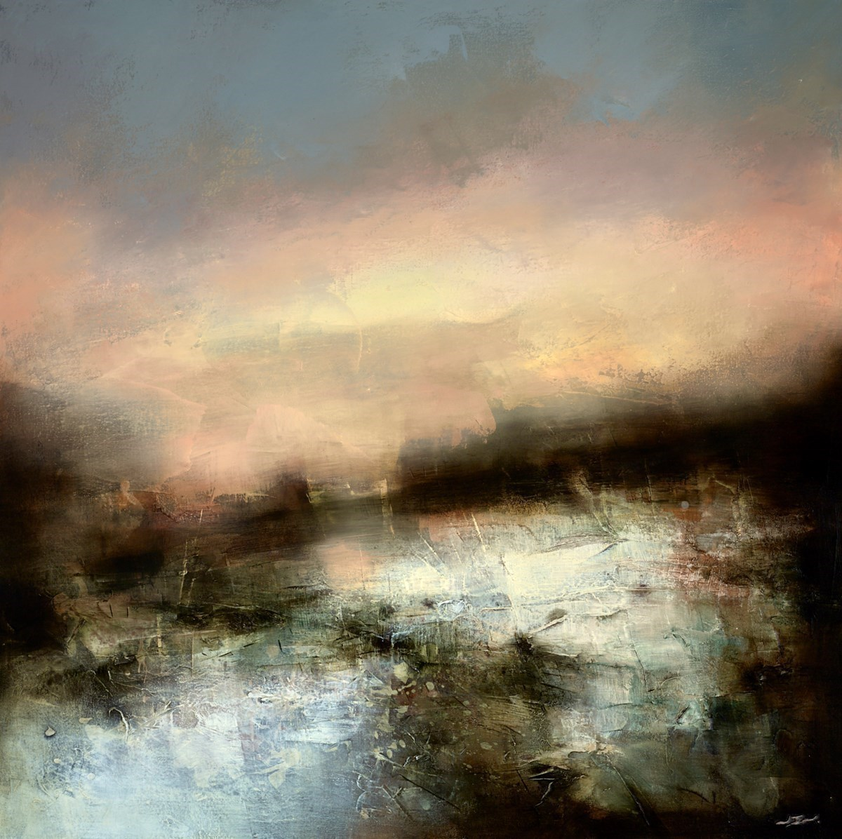 The Dying Light by Neil Nelson -  sized 39x39 inches. Available from Whitewall Galleries